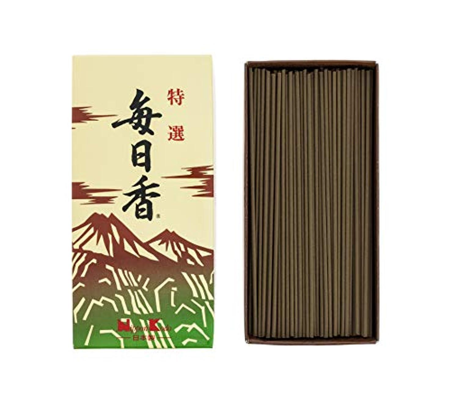 はねかけるほとんどない役に立たない日本香堂 特選毎日香 バラ 1個