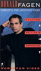 Donald Fagen: Concepts for Jazz Rock Piano [VHS]