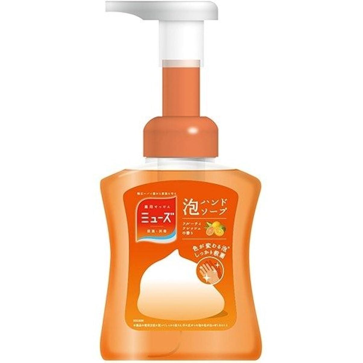 過激派すべき適切なミューズ 泡ハンドソープ フルーティフレッシュ 本体(250mL) 日用品 洗面?バス用品 ハンドソープ [並行輸入品] k1-4906156801057-ak