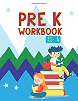Pre K Workbook Age 4: Colors Book, Numbers Book, Opposites Book, Trace Letters and Numbers (ABC Activity Book)
