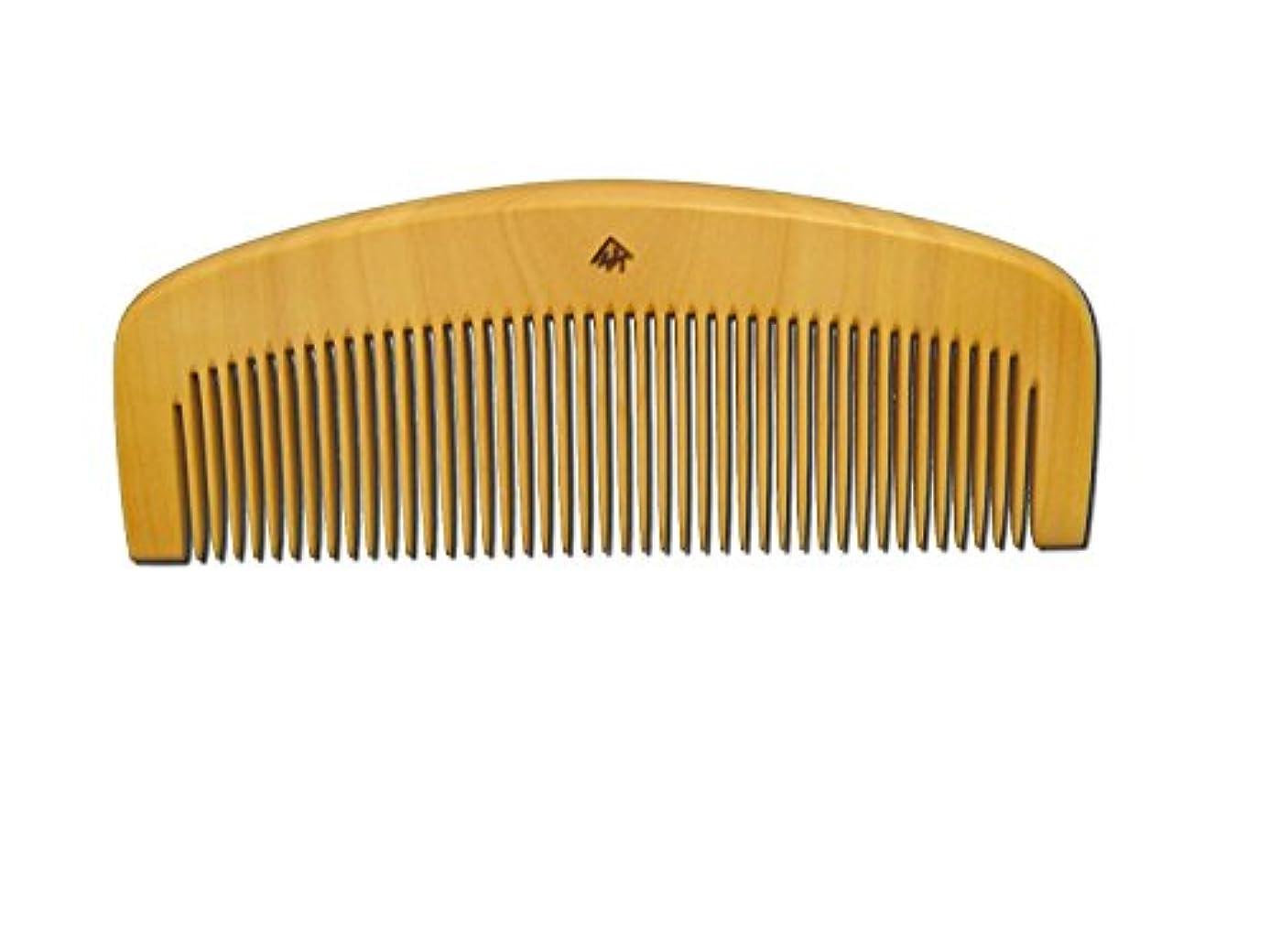 コスチュームアイザック暫定の薩摩つげ櫛 とき櫛 三寸五分 中歯