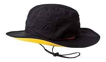 (ベーシックエンチ) BASIQUENTI テフロンサファリハット 帽子 品質検査済み撥水加工 レイン フェス バケット フリーサイズ 57cm-59cm ブラック