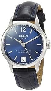 [ティソ] 腕時計 シュマン・デ・トゥレル オートマティック レザー T0992071604700 メンズ 正規輸入品 ブルー