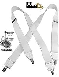 Hold-Up Suspender Co. ACCESSORY メンズ US サイズ: regular,one size,large カラー: ホワイト