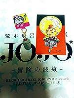 荒木飛呂彦原画展 ジョジョの奇妙な冒険第1部第2部 石仮面 エイジャの赤石 大阪限定マスコット&ポストカード ディオ