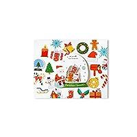 クリスマス ステッカー DIY プレゼント 可愛い カード 年賀状 装飾ステッカー 2pcs/セット (3)