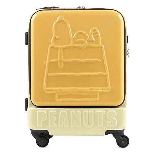 (ピーナッツ)peanuts スヌーピー SNOOPY キャリーケース PN-001 47cm CAFELATTE