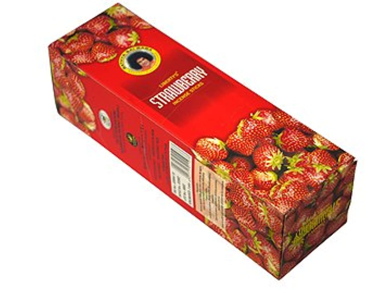 神話潮とんでもないLIBERTY'S(リバティーズ) ストロベリー香スクエアパック スティック STRAWBERRY 25箱セット