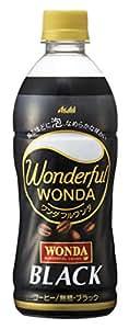 アサヒ飲料 ワンダフルワンダ ブラック 500ml ×24本