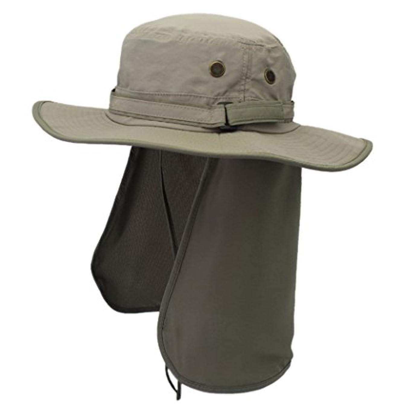 細分化する道路を作るプロセス系統的つば広 カバー付き 日よけ帽子 農作業 おしゃれ 実用 UVカット 紫外線防止 旅行 ピクニック 登山 釣り 海辺 アウトドア 春夏 男女兼用