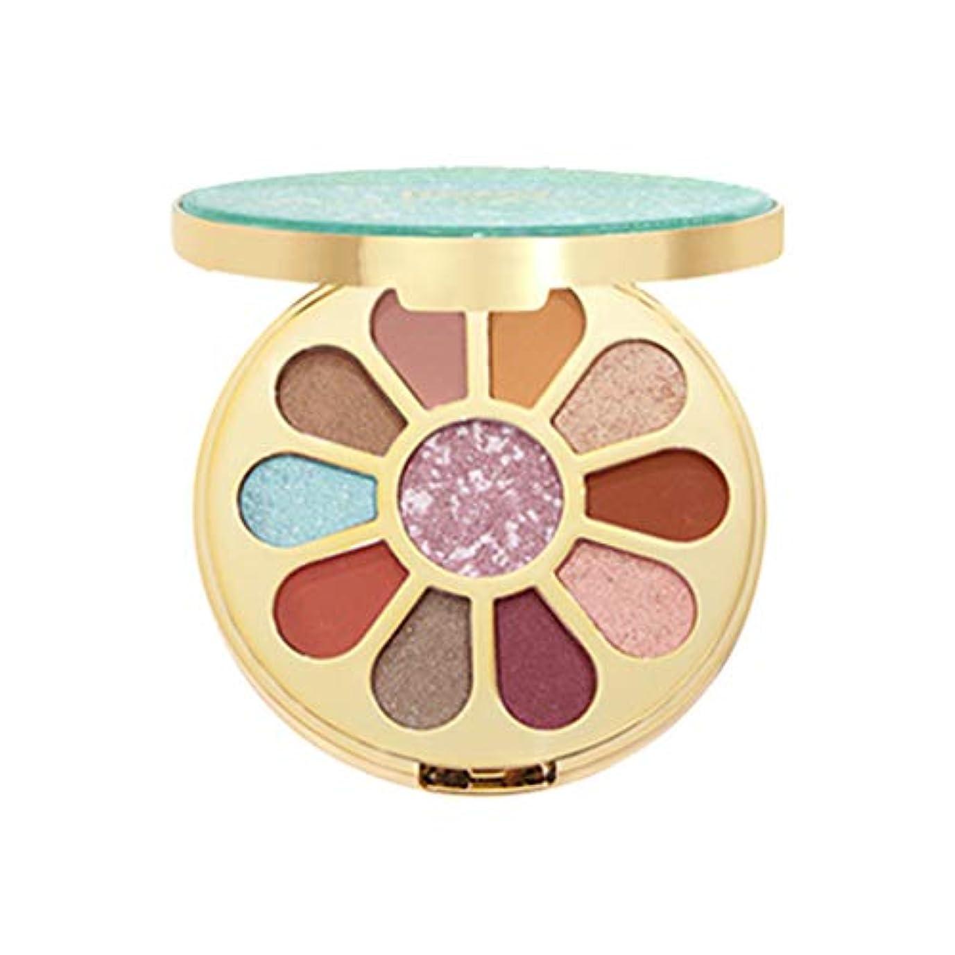 Lazayyii 化粧品 アイシャドウ きらめき アイシャドウ光沢パレットのきらめきセット 11色 (ブルー)