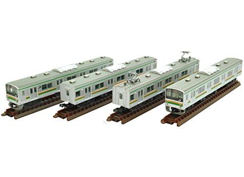 トミーテック ジオコレ 鉄道コレクション JR 205系 600番代 宇都宮線 Y12編成 4両セット ジオラマ用品