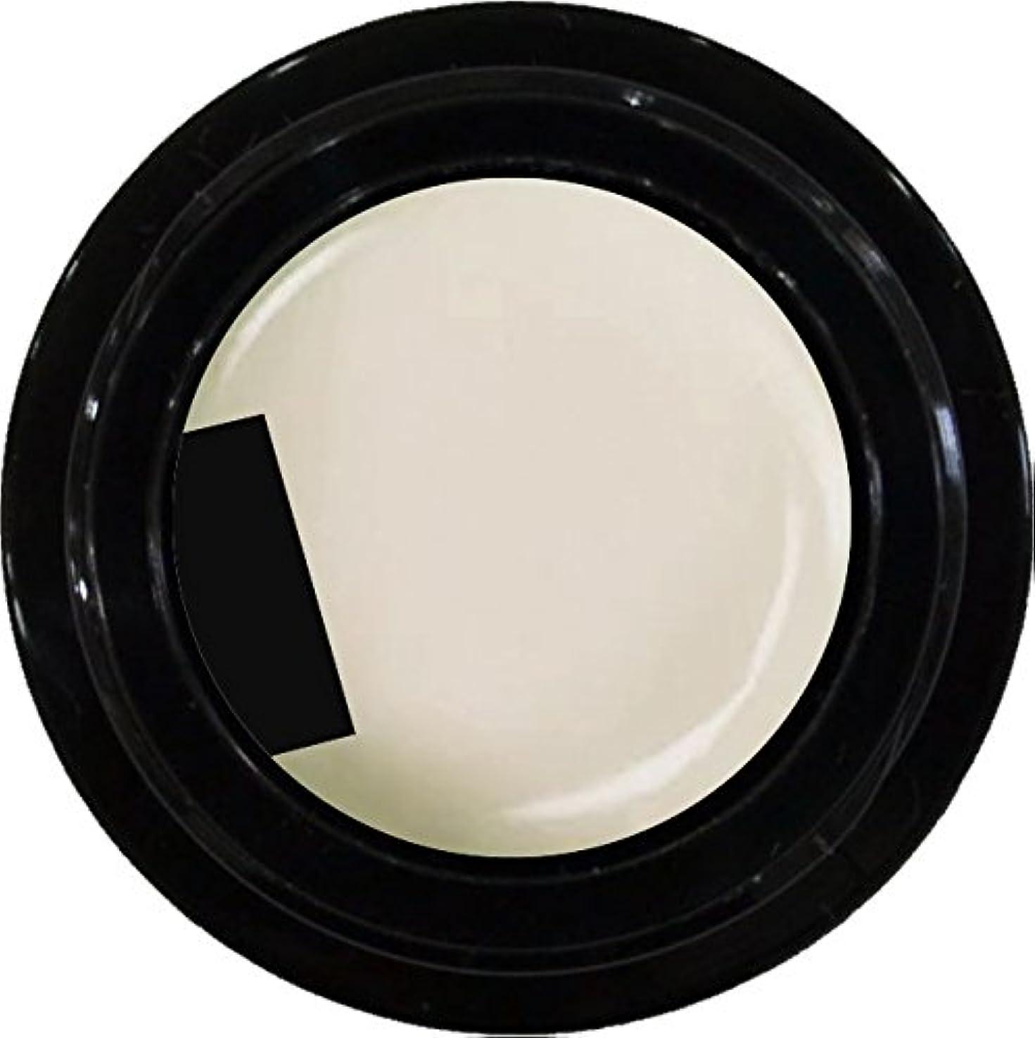 ハーフ名目上のモナリザカラージェル enchant color gel M006 MilkyWhite 3g/ マットカラージェル M006 ミルキーホワイト 3グラム