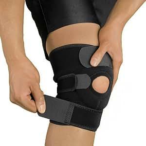 Bracoo 膝サポーター 膝固定 膝保護 フリーサイズ 膝痛 けが予防 膝用 運動用 ひざ サポーター 登山 ランニング バスケ アウトドア スポーツ