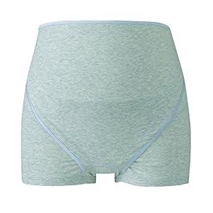 ワコール (Wacoal) マタニティ 妊婦帯 パンツタイプ (1枚で着用できる) 産前 ボーイレングス [ 開閉できるタイプ ] L グレー MRP320 GY
