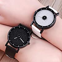 Men's Women's Wrist Watch Quartz Creative Casual Watch PU Band Analog Fashion Colorful Black/White/Blue - Blue Light Blue Black/White