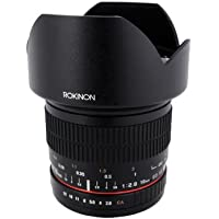 Rokinon 10mm F2.8 ED AS NCS CS Ultra Wide Angle Lens for Sony Alpha Digital SLR Cameras (10M-S) by Rokinon