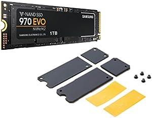 Samsung SSD 1TB 970EVO 専用ヒートシンク付き限定モデル 5年保証 正規代理店保証品 MZ-V7E1T0B/HS