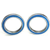 20x27x4mm Precision Ball Bearings ABEC 3 Blue Rubber Seals (2) [並行輸入品]
