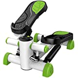 Mini Stepper Aerobic Exercise Burning Calories Adjustable Hydraulic Stepper Exercise Equipment or Leg Arm and Knee Recovery Exercise