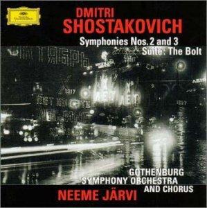 ショスタコーヴィチ:交響曲第2番「10月革命に捧ぐ」、第3番「メーデー」、バレエ組曲「ボルト」