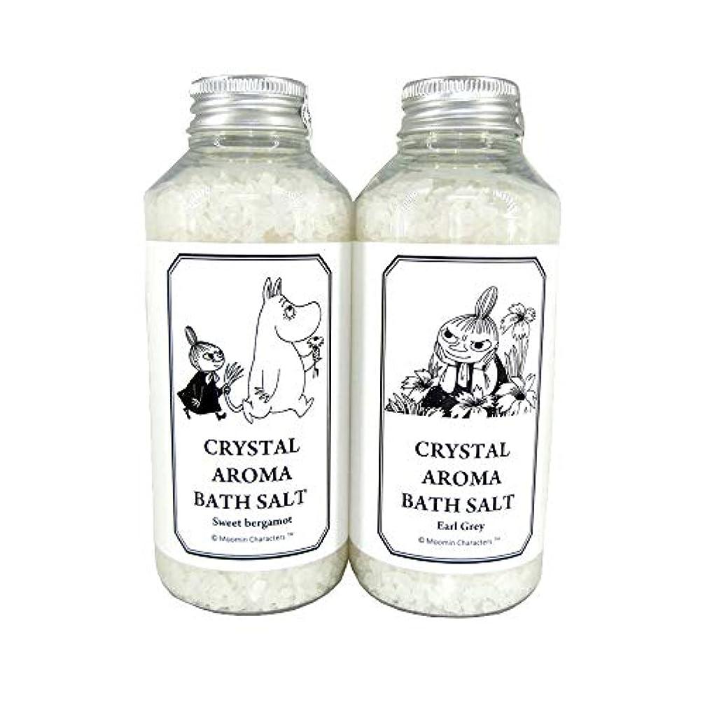 カテゴリー制裁固める【ムーミン】アロマバスソルト セットA スイートベルガモットの香り?アールグレイの香り