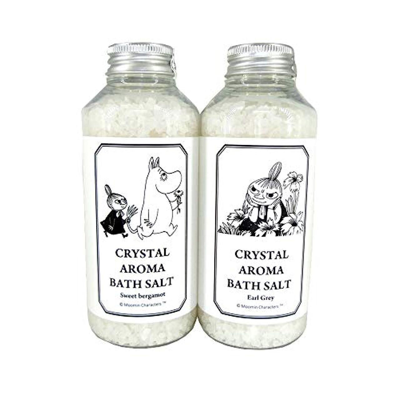 役立つ真っ逆さまたとえ【ムーミン】アロマバスソルト セットA スイートベルガモットの香り?アールグレイの香り