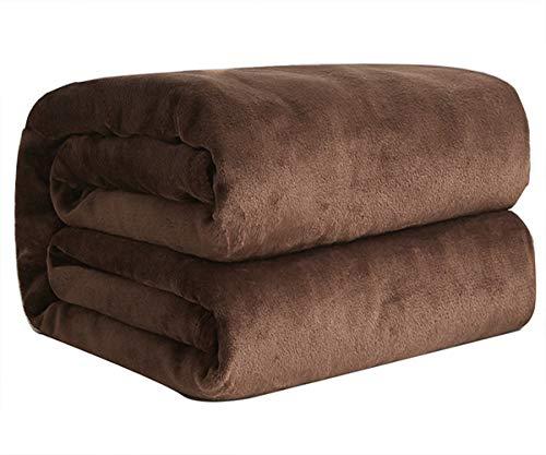 毛布 シングル マイクロファイバー あったか 軽い 暖かい柔らかい ふわふわ 洗える フランネル 毛布 140×200㎝ 抗菌防臭 オールシーズン 1年間品質保証
