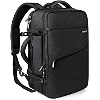 Inateck 35L Travel Backpack, Anti-Theft Laptop Rucksack Flight Approved Carry-On Luggage Backpack, Fits 17 Inch Laptop - Black