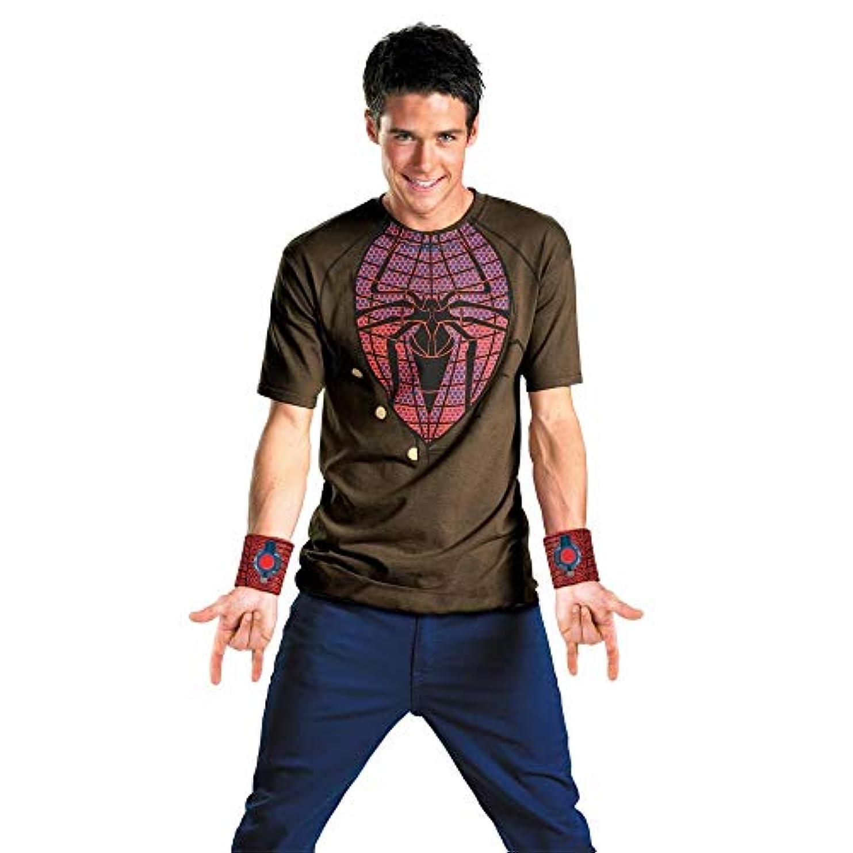 宿題をする戦略分解するThe Amazing Spider-Man Movie Adult Costume Kitアメイジングスパイダーマン映画大人用コスチュームキット?ハロウィン? XLサイズ