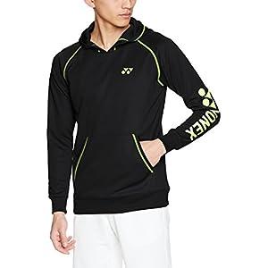 (ヨネックス)YONEX テニスウェア スウェットパーカー(フィットスタイル) 32021 [ユニセックス] 32021 007 ブラック (007) M