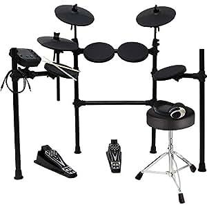 MEDELI メデリ 電子ドラム DD401J-DIY KIT ヘッドフォンセット (ドラムスティック/ドラムイス/オーディオケーブル/ヘッドフォン付き)