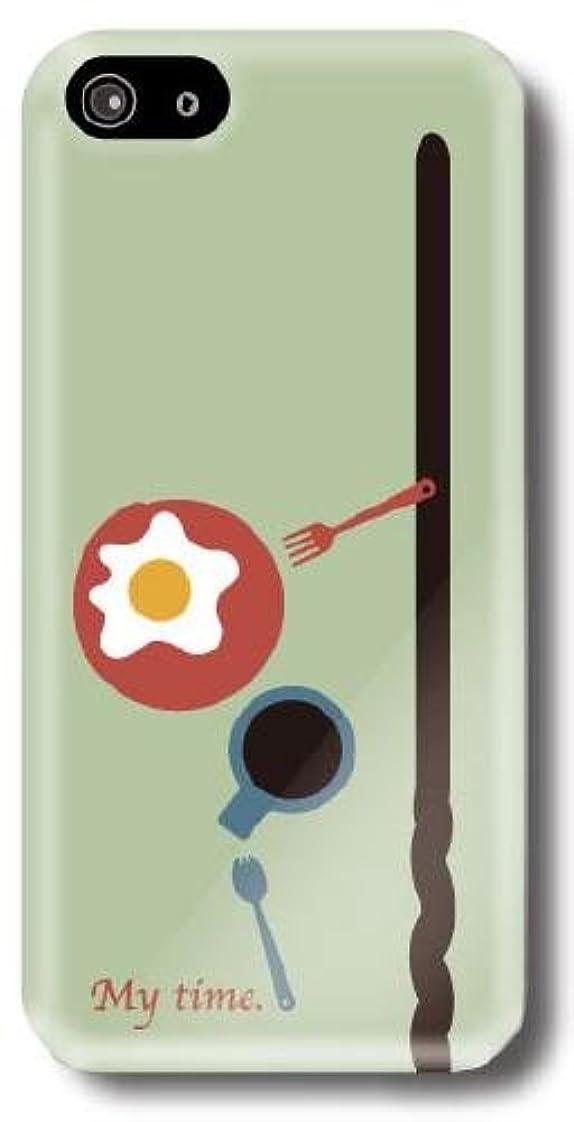 目立つイタリアのブル【Paiiige】私の時間 (クリア)/ for i Phone5/au by KDDI専用ケース AUIPN5-101-A010