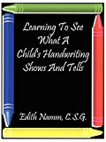 Learning to See What a Child's Handwriting Shows and Tells 画像