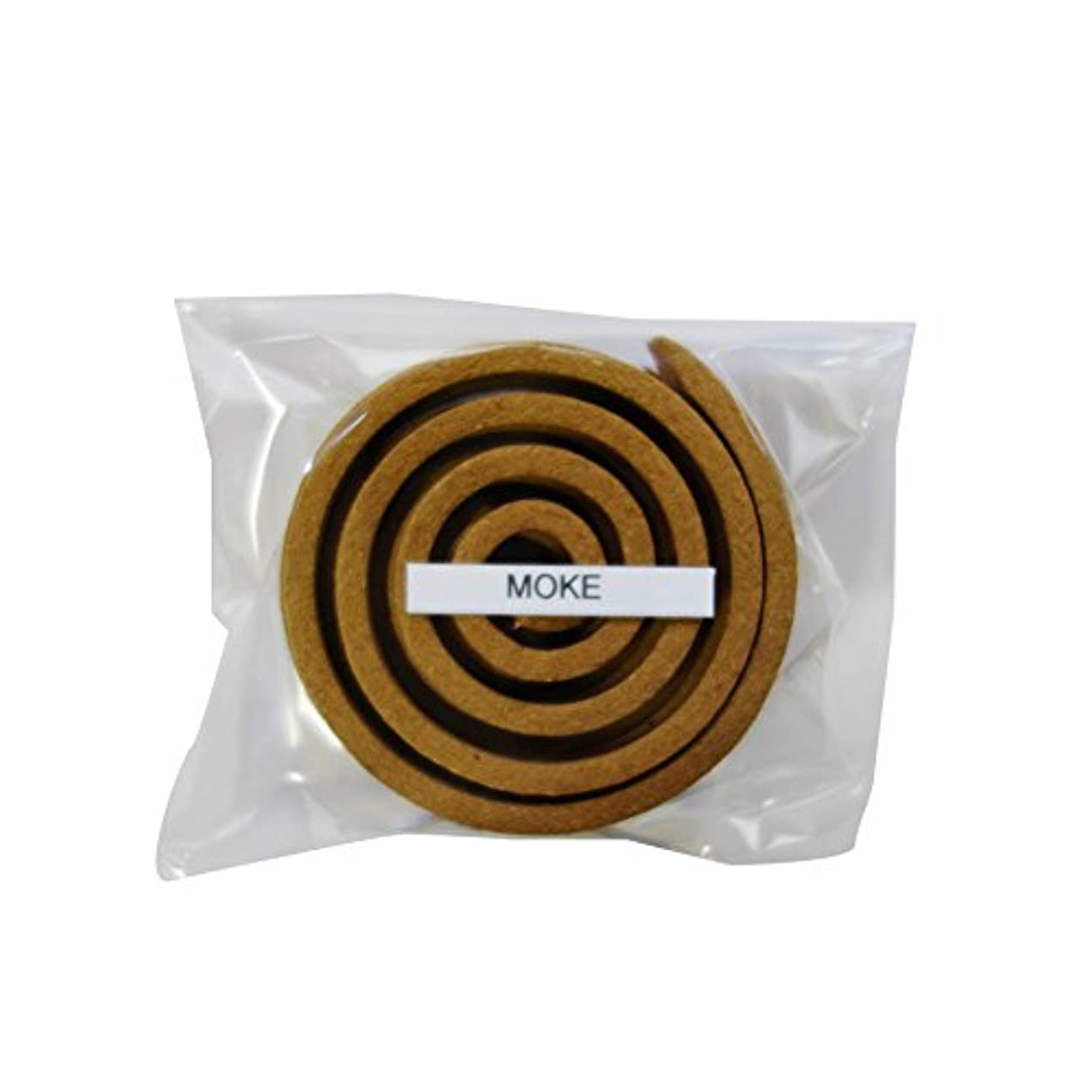 セールスマンガソリンブリッジお香/うずまき香 MOKE モーク 直径5cm×5巻セット [並行輸入品]