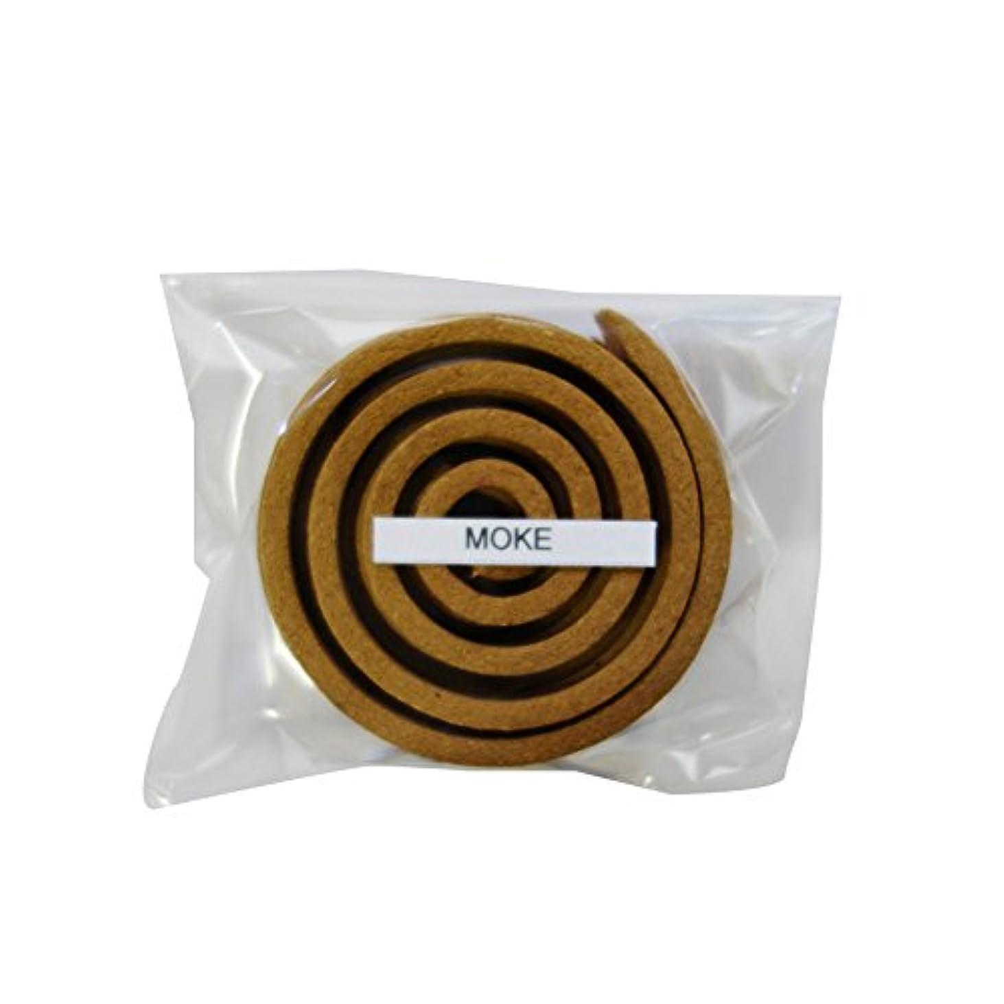 クレーターコーデリアワックスお香/うずまき香 MOKE モーク 直径5cm×5巻セット [並行輸入品]