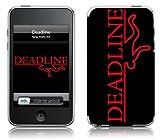 Music Skins iPod Touch 8GB (第2世代) / 32GB 64GB (第3世代) 用フィルム Deadline – Redline iPod Touch 8GB (第2世代) / 32GB 64GB (第3世代) MSFSIPT20031