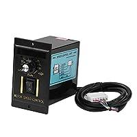 YOUn AC 220V デジタル ディスプレイ 調整可能 無段 モータ 速度 コントローラ