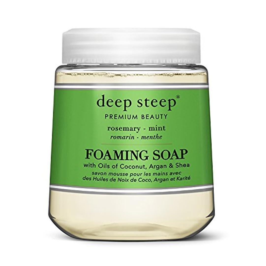 水銛弾丸simplehuman Deep Steep 10 Fl。オンスローズマリーミントFoaming Hand Washカートリッジ