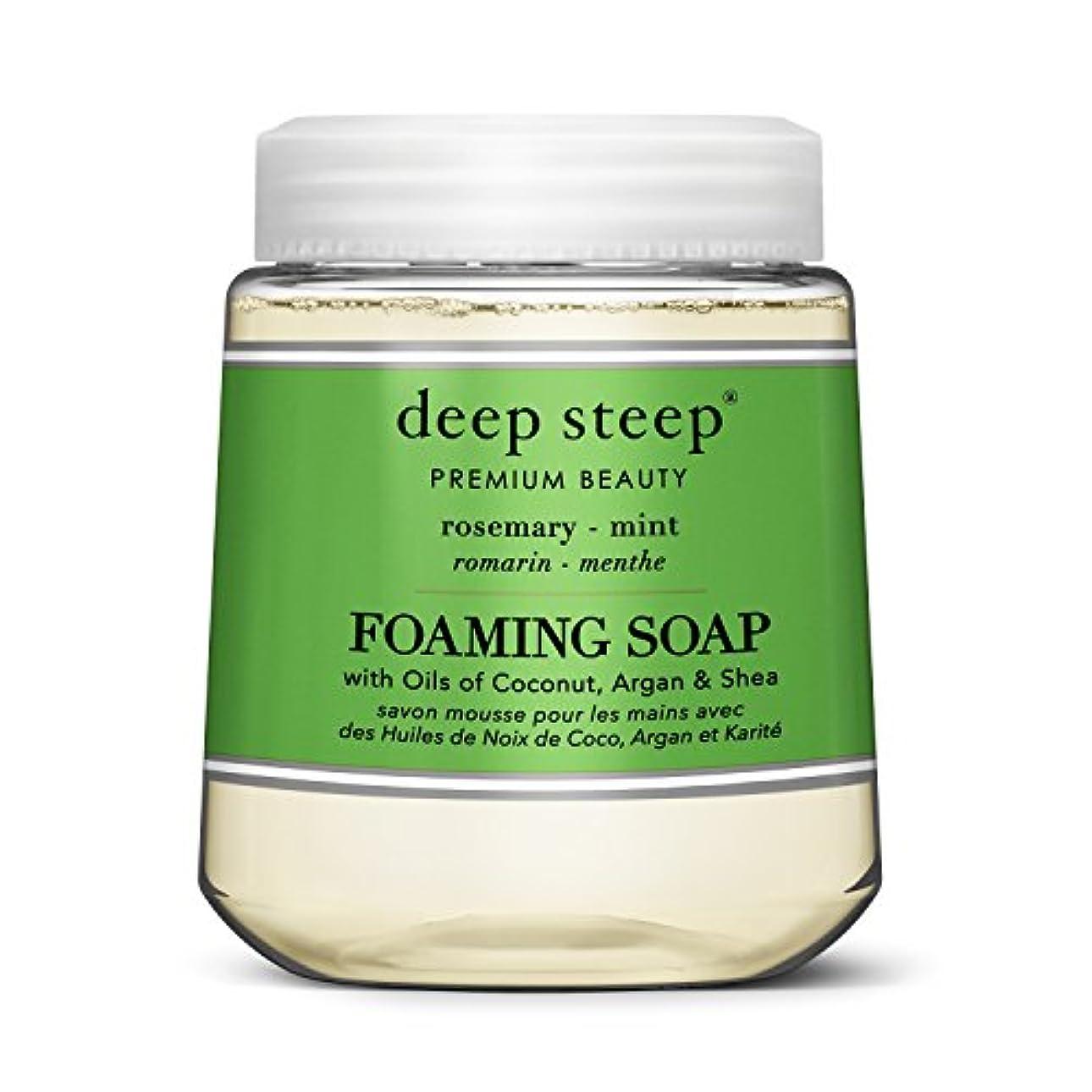 治すモニター植物学者simplehuman Deep Steep 10 Fl。オンスローズマリーミントFoaming Hand Washカートリッジ