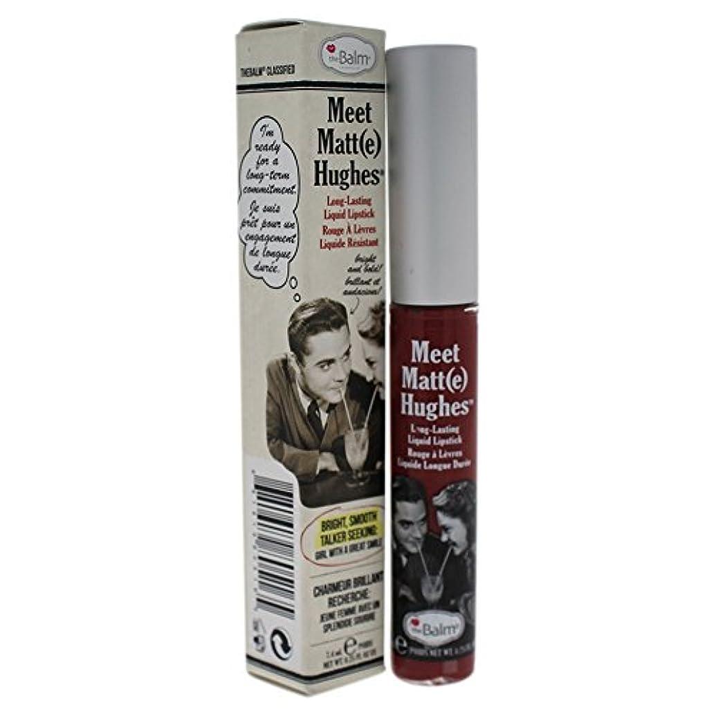 ザバーム Meet Matte Hughes Long Lasting Liquid Lipstick - Charming 7.4ml/0.25oz並行輸入品