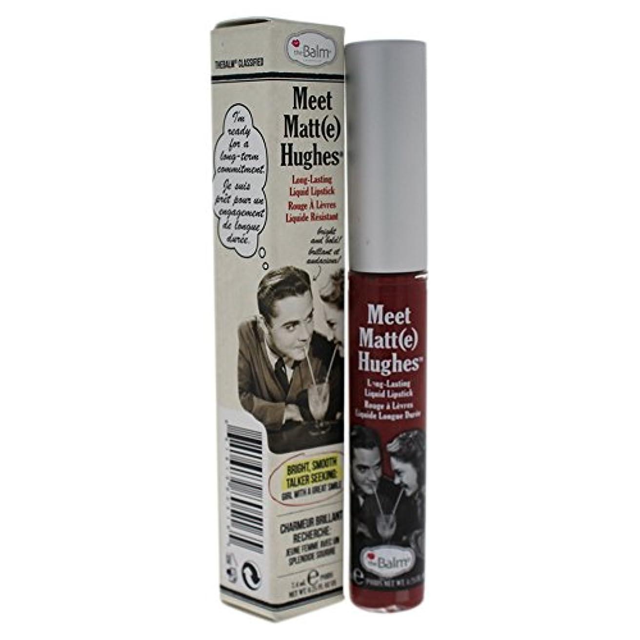 楕円形あいまい神聖ザバーム Meet Matte Hughes Long Lasting Liquid Lipstick - Charming 7.4ml/0.25oz並行輸入品