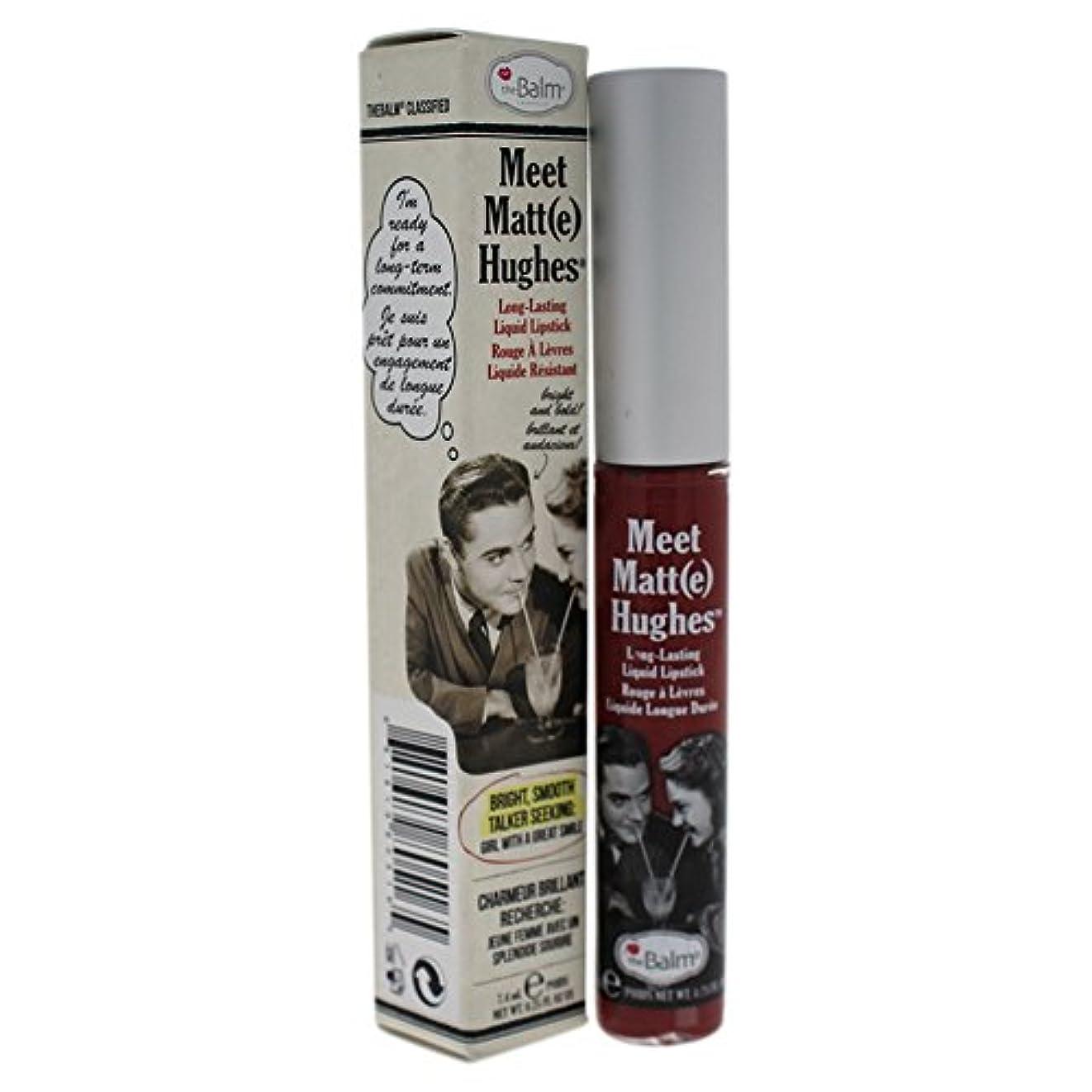 スワップアジア人壮大ザバーム Meet Matte Hughes Long Lasting Liquid Lipstick - Charming 7.4ml/0.25oz並行輸入品