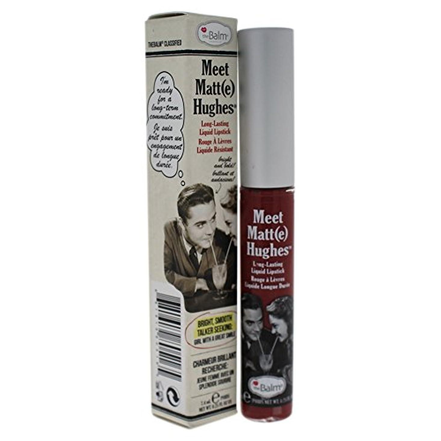 閃光ロッカー聡明ザバーム Meet Matte Hughes Long Lasting Liquid Lipstick - Charming 7.4ml/0.25oz並行輸入品