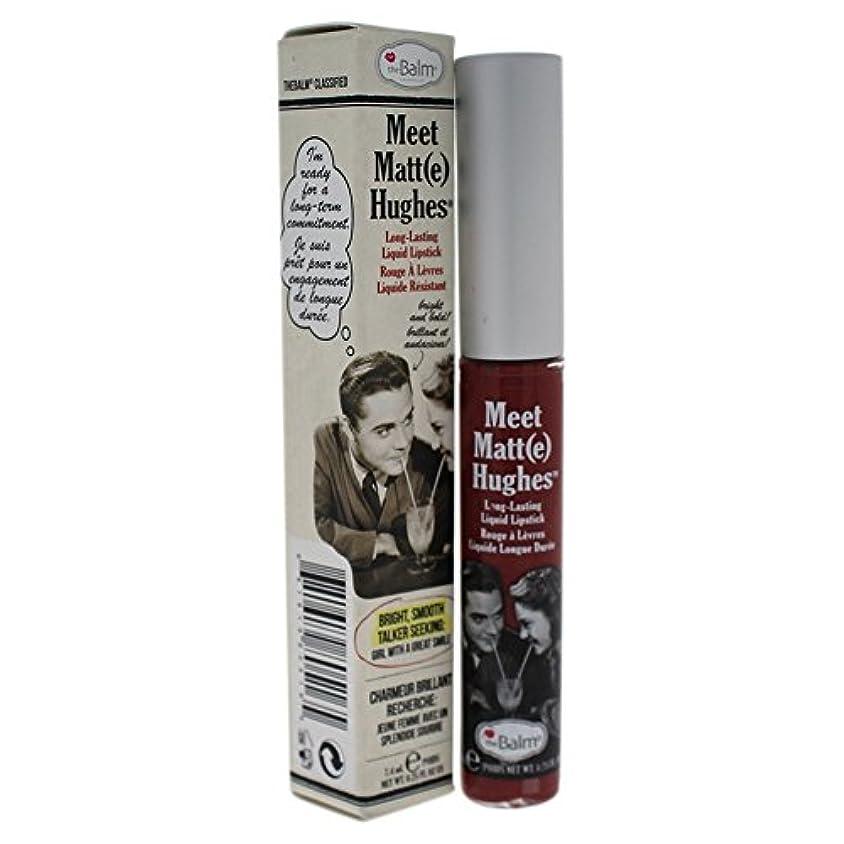 ポジティブ通行料金精通したザバーム Meet Matte Hughes Long Lasting Liquid Lipstick - Charming 7.4ml/0.25oz並行輸入品