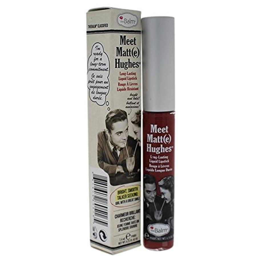 糸無声で剛性ザバーム Meet Matte Hughes Long Lasting Liquid Lipstick - Charming 7.4ml/0.25oz並行輸入品