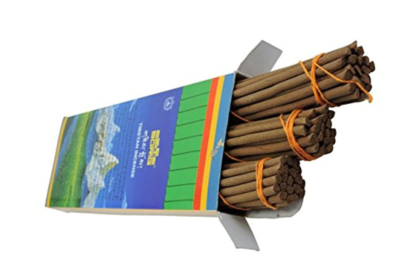 したがって出発する砲撃Handmade Tibetan Incense 60 Pack By Men- Tsee Khang by Hands Of Tibet