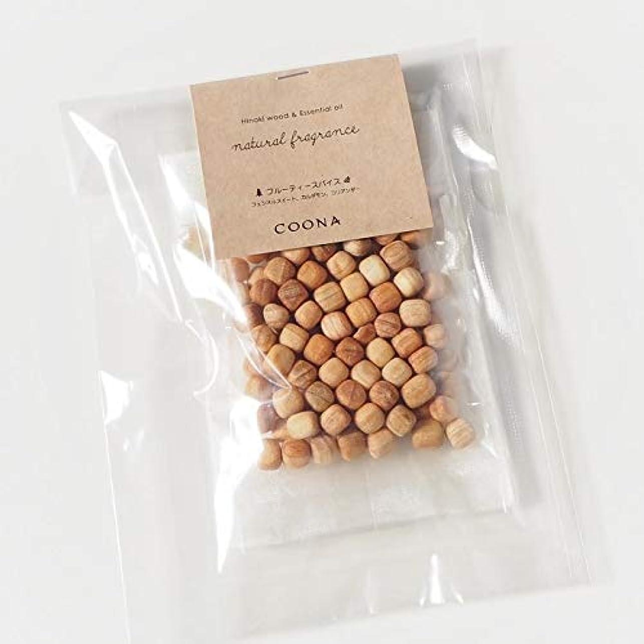 境界栄養深いヒノキ ウッド& エッセンシャルオイル ナチュラルフレグランス (オーガンジーバッグ付き, 樹の香り)