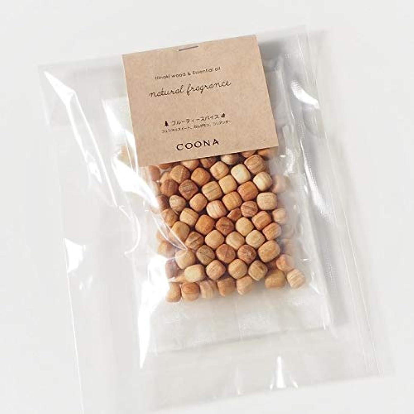 膨張する解体する基本的なヒノキ ウッド& エッセンシャルオイル ナチュラルフレグランス (オーガンジーバッグ付き, 樹の香り)
