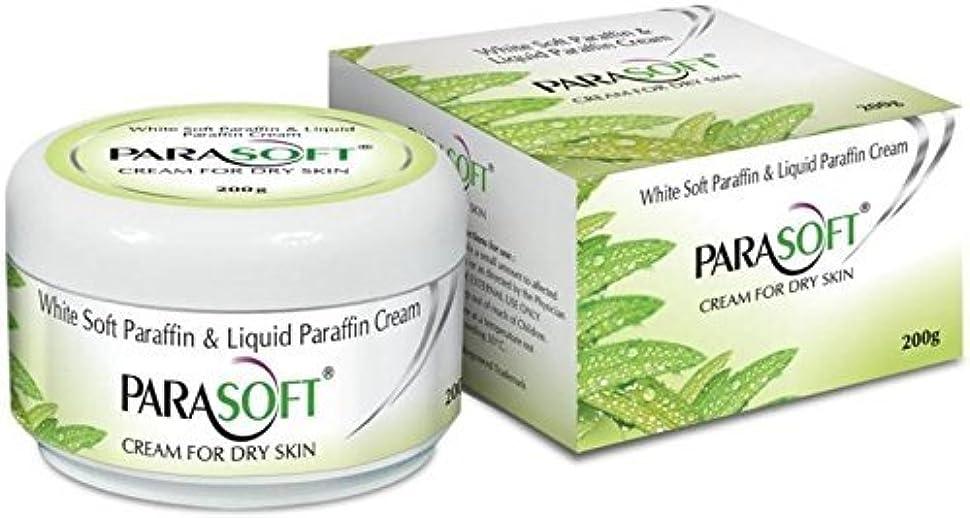 柔らかい赤喉頭Parasoft dry skin cream paraben free with added goodness of natural aloevera 200g